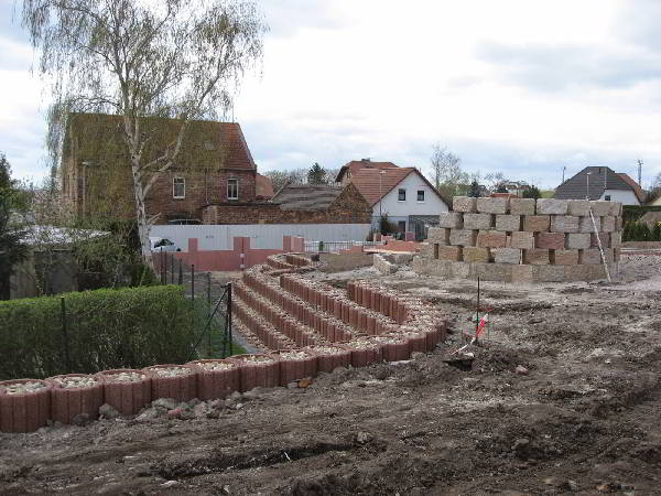 Baustelle Freiflächen Außenanlagen
