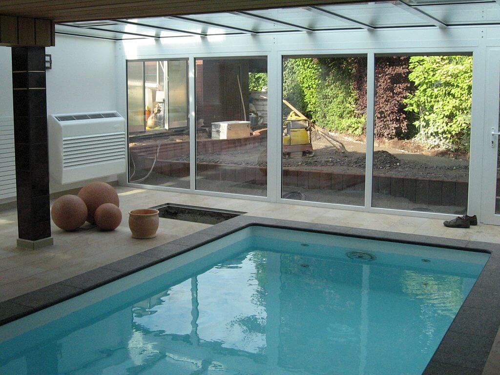 Referenzen bauplanung bauleitung altbau sanierung neubau - Wintergarten mit pool ...
